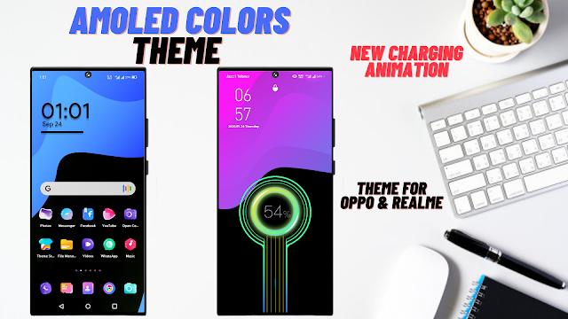 Chủ đề màu sắc Amoled cho oppo và Realme || Chủ đề Oppo || Chủ đề Realme ||