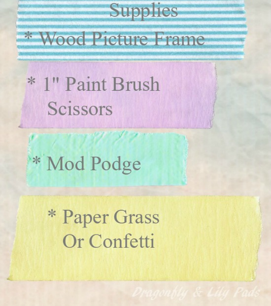 Mod Podge, Kids project, Summer Fun Series, /wooden Picture Frame, Baby Gift, Guest Post