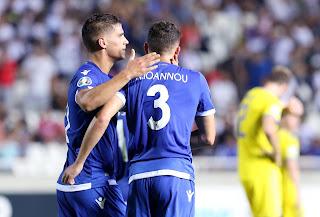 Κύπρος 1-1 Καζακστάν. Το γκολ ο Πιέρος με ασίστ του κορυφαίου Νικόλα Ιωάννου