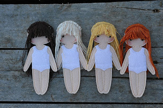 "TomToy felt ""paper"" doll"