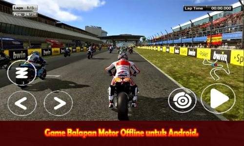 Game Balapan Motor Offline untuk Android.