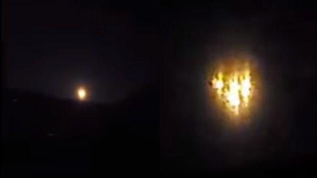Qué son esas luces sobre Arizona, ovnis o tal vez el ejército está probando algo
