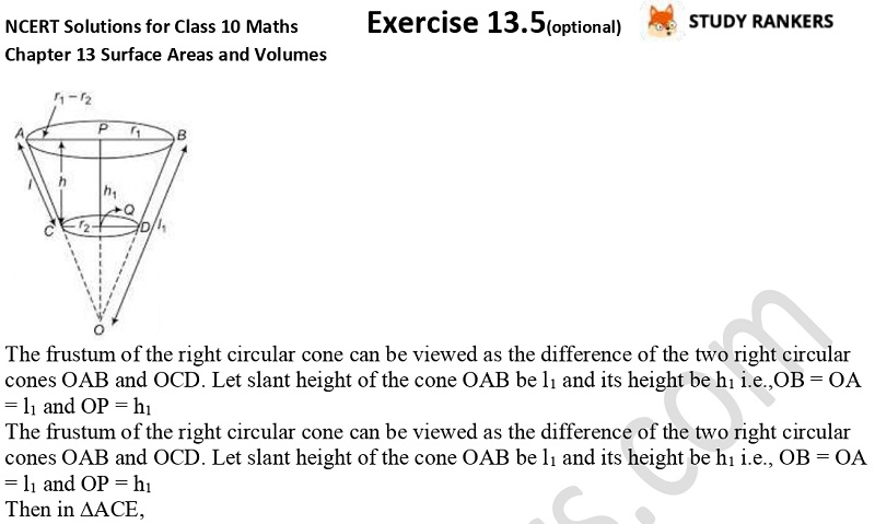NCERT Solutions for Class 10 Maths Chapter 13 Surface Areas and Volumes Exercise 13.5 Part 5