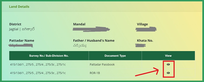 how-to-download-land-passbook-telangana-pahani