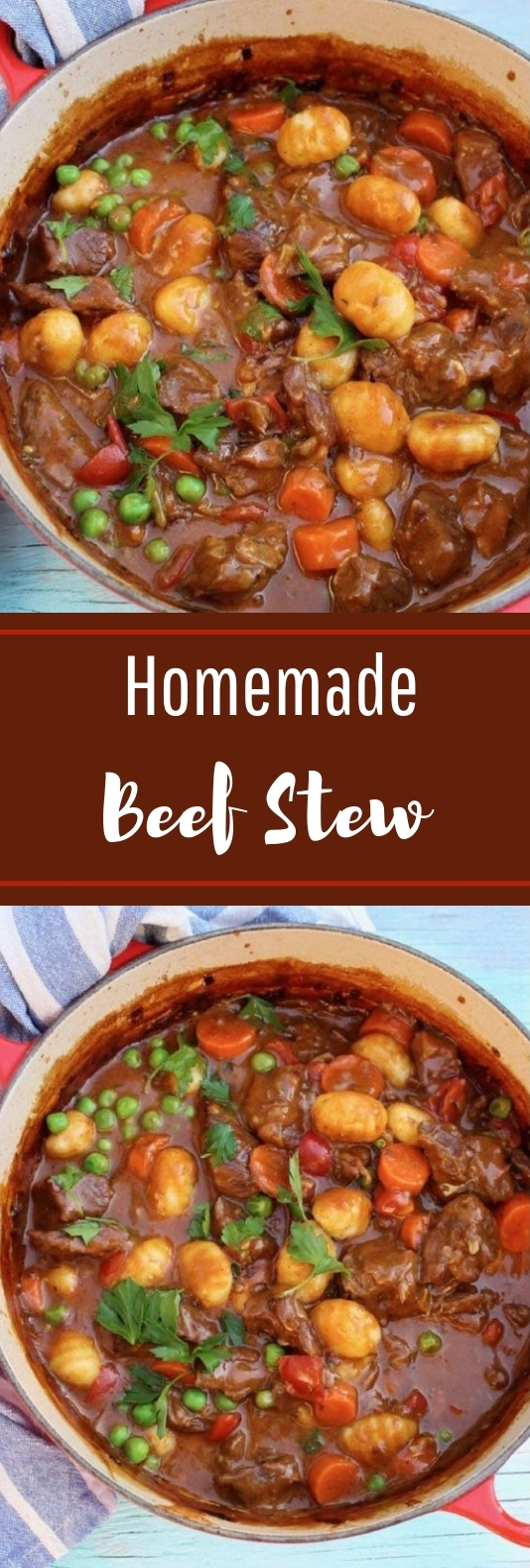 Homemade Beef Stew #beef #slowcooker