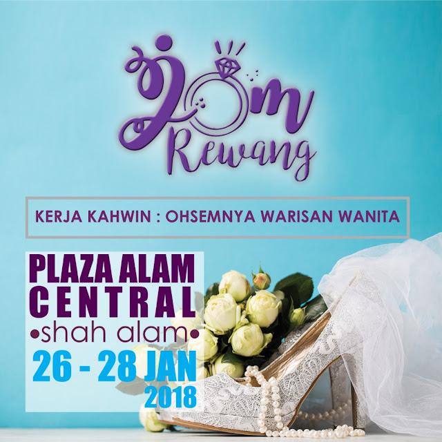 Pameran Pengantin Jom Rewang 2018 - Plaza Alam Sentral Shah Alam