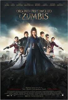 Resenha - Filme Orgulho e Preconceito e Zumbis