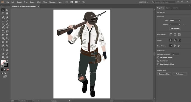 Raster Image into a Vector Artwork in Adobe Illustrator