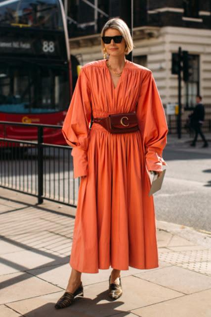 Модные образы яркой одежды 12