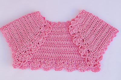 3 - Crochet Imagen Lindo bolero a crochet y ganchillo muy fácil y sencillo por Majovel Crochet.