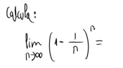 24. Límite de una sucesión (número e) 1