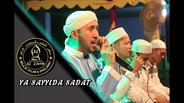 habib zainal abidin sholawat ya sayyida sadat