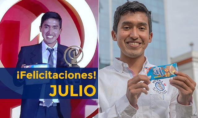 Peruano creador de galletas contra anemia gana concurso de History Channel