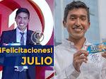Julio Garay, peruano creador de galletas contra anemia ganó concurso de History Channel