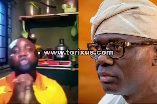LAWMA staff Cries as he Begs Sanwo-Olu to pay them their three Months Salary (Video)