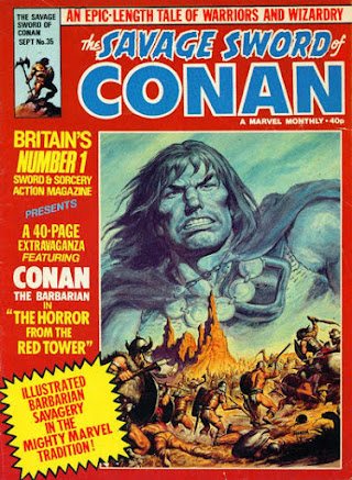 Savage Sword of Conan #35