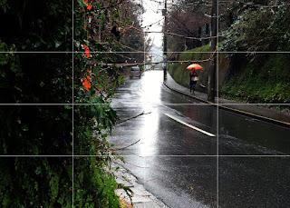 雨の鎌倉 写真