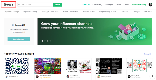 How to set up gigs on fiverr