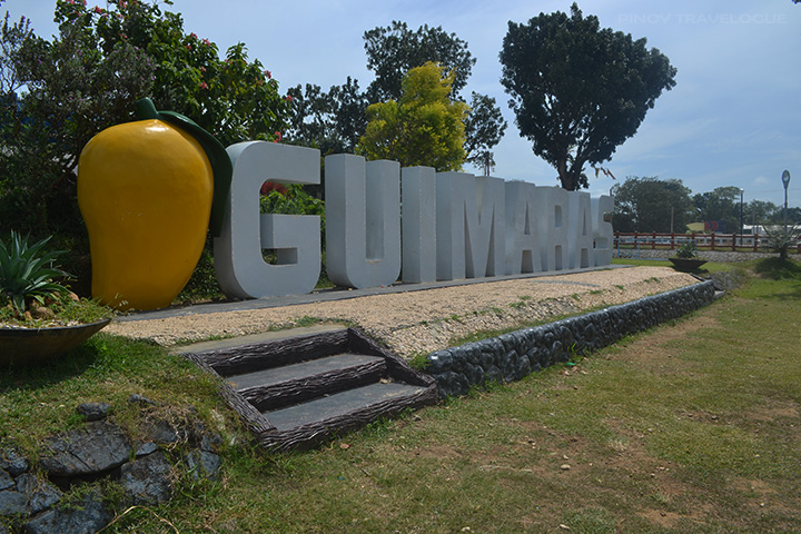Guimaras landmark at the Provincial Capitol