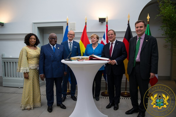 """""""Ghana's Relations With Germany Of Utmost Importance"""" - President Akufo-Addo"""