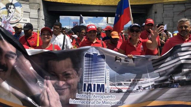 Convocan a protestas en Venezuela en el día de independencia