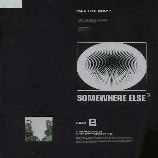 Somewhere Else - All the Way - Single Cover