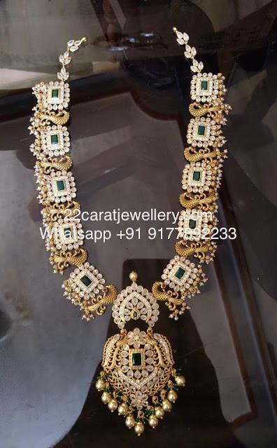 CZ Stones Silver Metal Necklaces