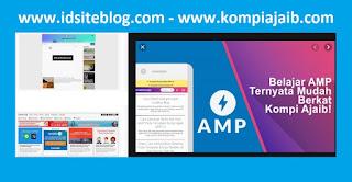 Ada beberapa keunggulan dan kelebihan apabila kamu ingin menggunakan template blog yang di buat dan di bangun dari dasar-dasar AMP Google :