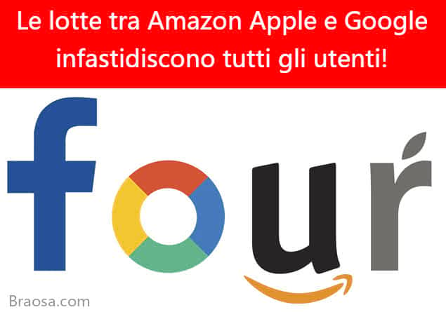 Le lotte di Amazon con Apple e Google infastidiscono praticamente tutti