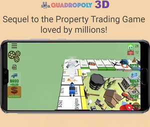 Board Game of the Week - Quadropoly 3D