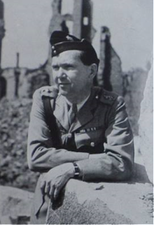 Wilfred Byford-Jones - summer 1945 (courtesy of Pete Merrill - from dust jacket of one of Byford-Jones' books)