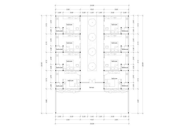 Boarding house plan 27