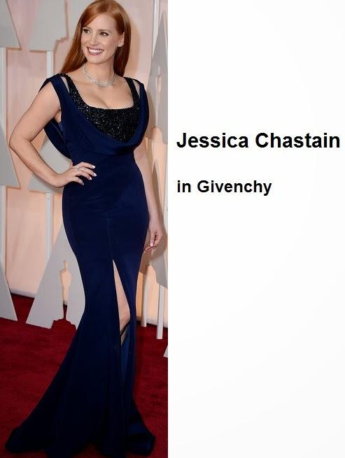 Jessica%2BChastain%2Bin%2BGivenchy - Look Óscares 2015