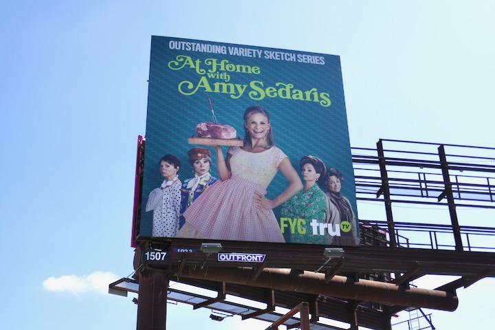 At Home Amy Sedaris s3 Emmy FYC billboard