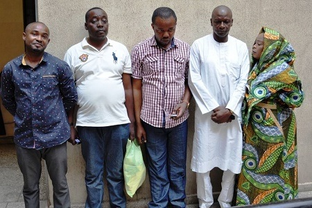 See Faces of Five Land Fraudsters Remanded in Prison Custody Over N29 Million Scam (Photos)