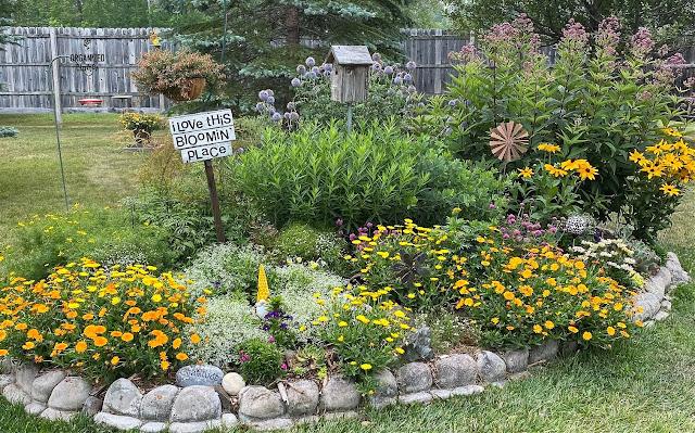 Photo of flower garden