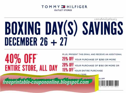 Discount tommy coupon code
