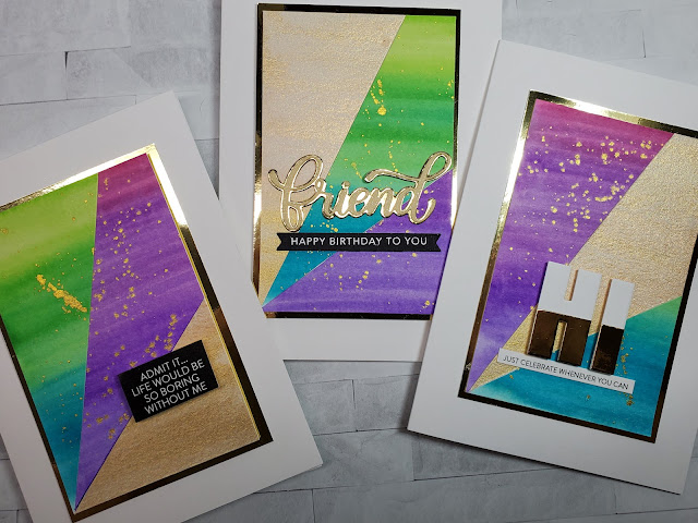 onlinecardclasses, karin pro markers, handmade cards