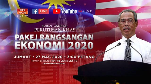 Pakej Rangsangan Ekonomi 2020 Prihatin Rakyat