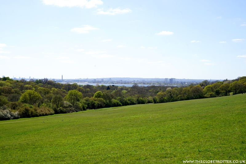 View from Yardley Hill