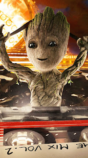 Baby Groot Guardians Of The Galaxy Mobile HD Wallpaper