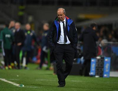 Pelatih Italia, Giampiero Ventura gagal membawa Italia ke Piala Dunia 2018