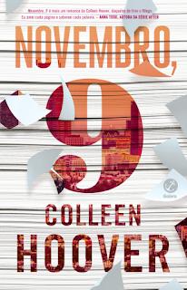 Novembro, 9 - Colleen Hoover | Resenha