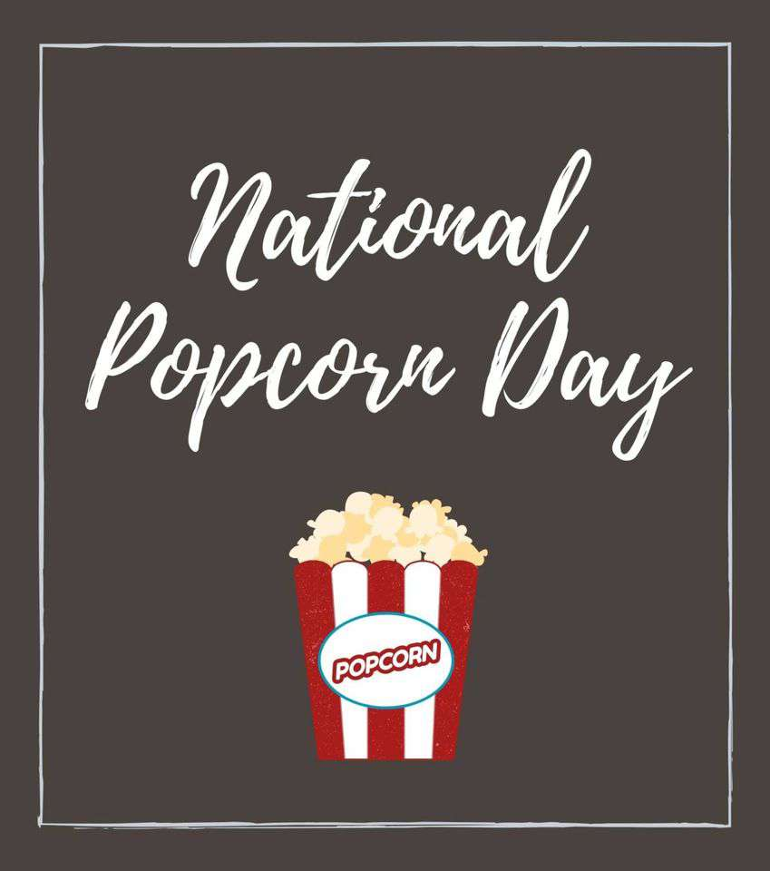 National Popcorn Day Wishes Awesome Images, Pictures, Photos, Wallpapers