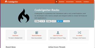 Membuat sebuah website dengan codeigniter | Perkenalan