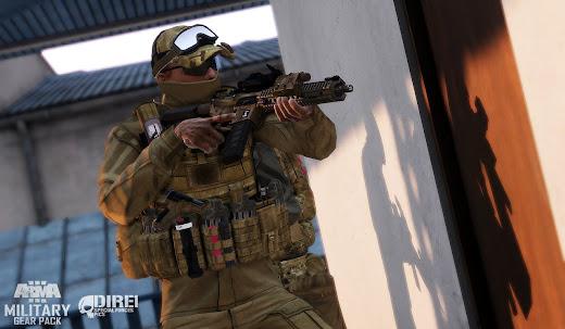 MarCirasなどあるArma3用Military Gear Pack MOD