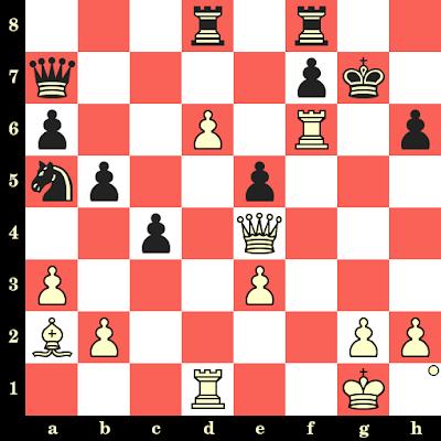 Les Blancs jouent et matent en 4 coups - Elisabeth Paehtz vs Kateryna Lahno, Pékin, 2011
