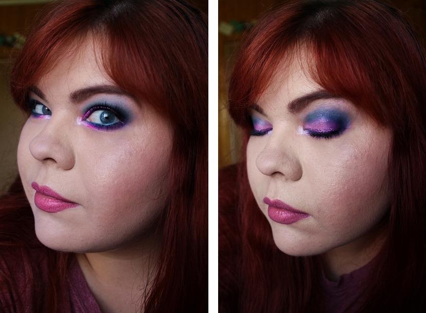 Fiolet i niebieskości