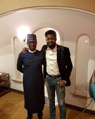 Fan flew Basketmouth to Japan to surprise wife on her 40th birthday 2