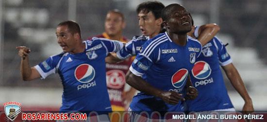 Millonarios ganó y está cada vez más cerca de la final | Rosarienses, Villa del Rosario